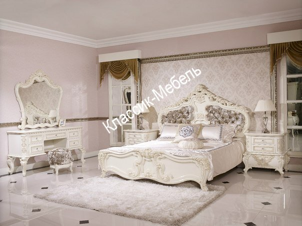 Спальня Эмилия шкаф 6-ти дв., кр-ть 180